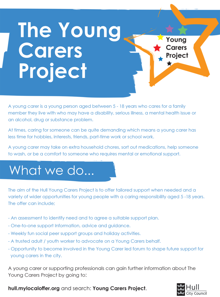 YoungCarersProject - Eflyer June 2020