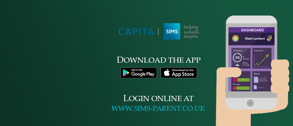 Have you downloaded the SIMS parent app?