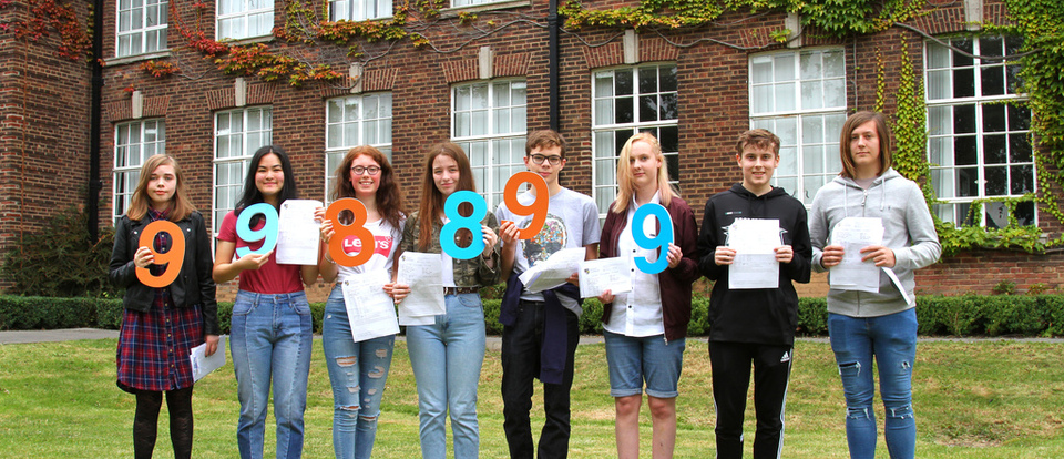 Celebrating good results at Malet Lambert